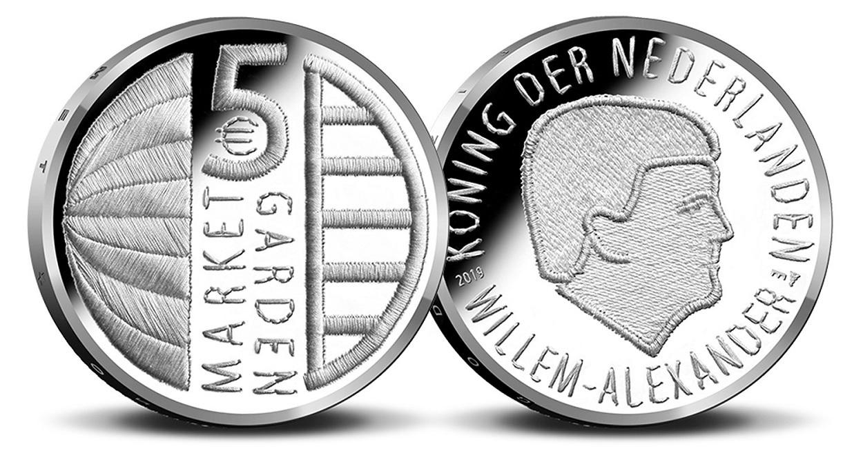 5 euro Netherlands 2019 Uncirculated - Operation Market Garden (zoom)