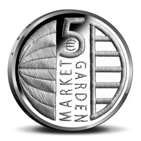 5 euro Pays-Bas 2019 UNC - Opération Market Garden Revers