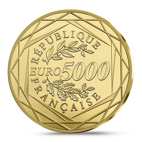5000 euro France 2019 or BE - Marianne Revers