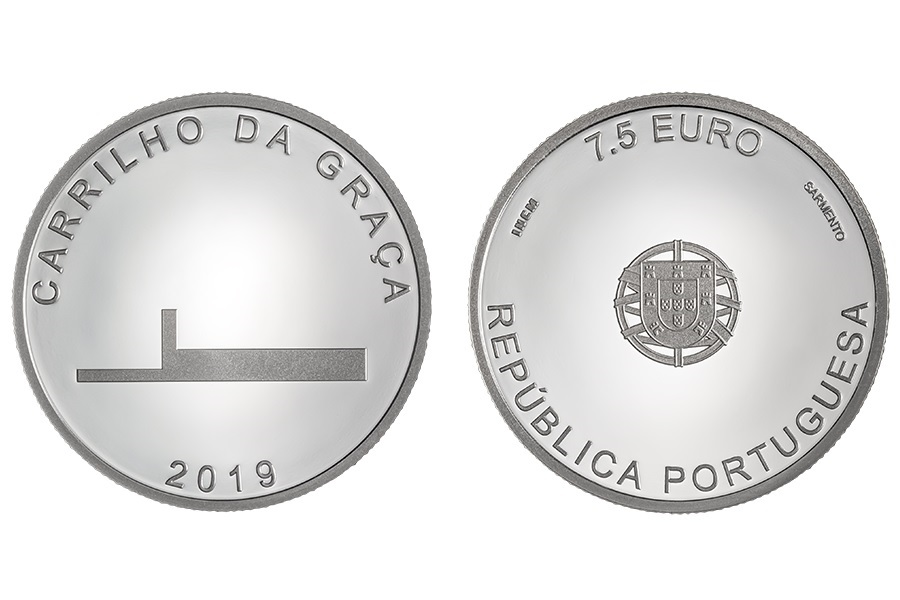 7.5 euro Portugal 2019 Proof silver - João Luís Carrilho da Graça (zoom)
