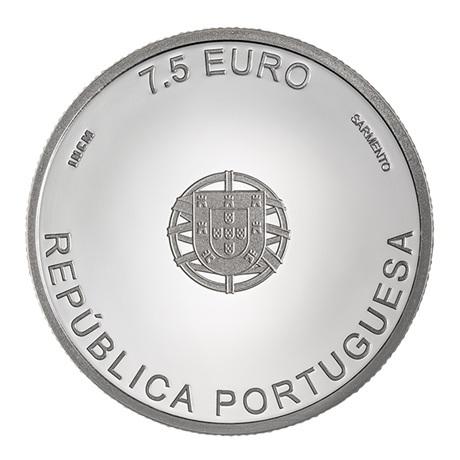 7,5 euro Portugal 2019 argent BE - Carrilho da Graça Avers