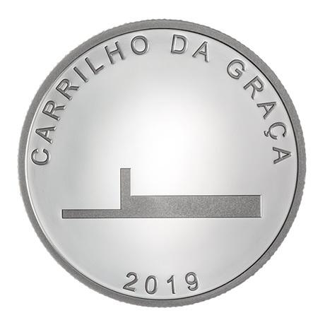 7,5 euro Portugal 2019 argent BE - Carrilho da Graça Revers