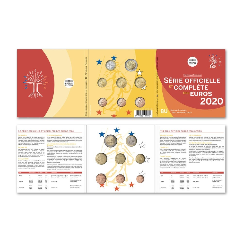 BU coin set France 2020 (inside) (zoom)