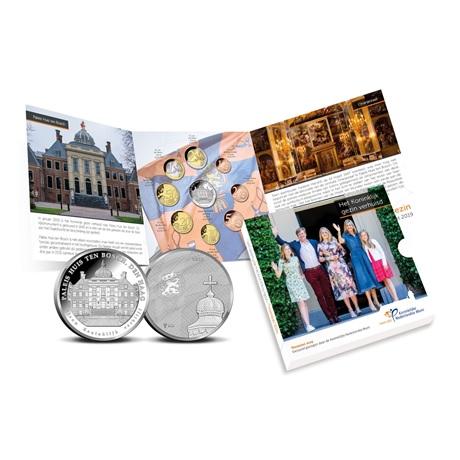 Coffret BU Pays-Bas 2019 - Déménagement de la famille royale (intérieur)