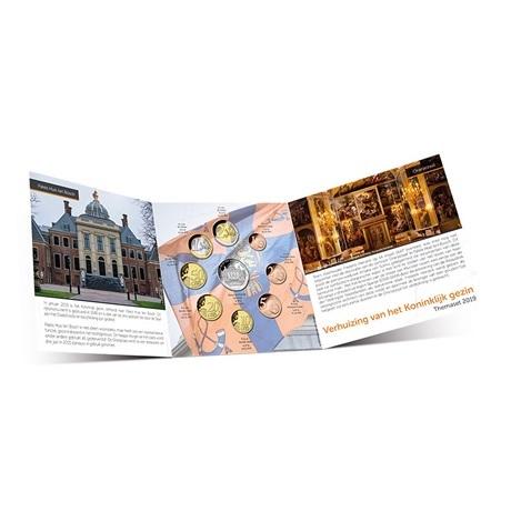 Coffret BU Pays-Bas 2019 - Déménagement de la famille royale (ouvert)