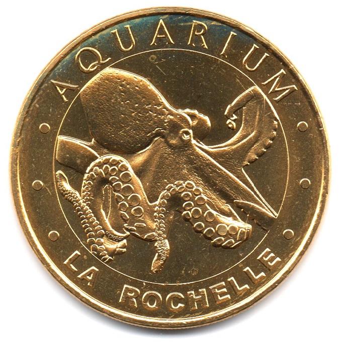 (FMED.Méd.tourist.2019.CuAlNi2.7.-1.1.spl.000000001) Tourism token - The octopus Obverse (zoom)