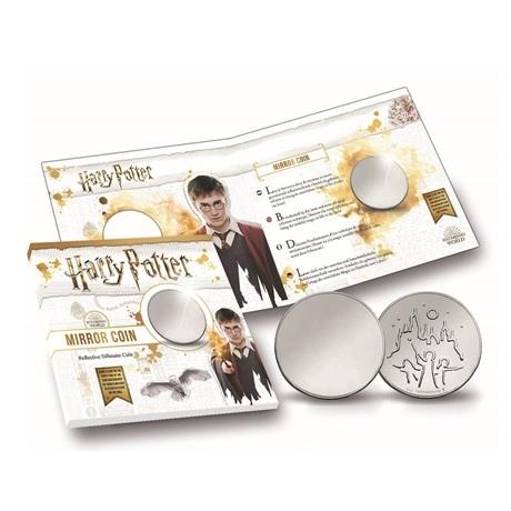 (MED14.Méd.KNM.2018.FeC1) Médaille miroir - Harry Potter (avec packaging)