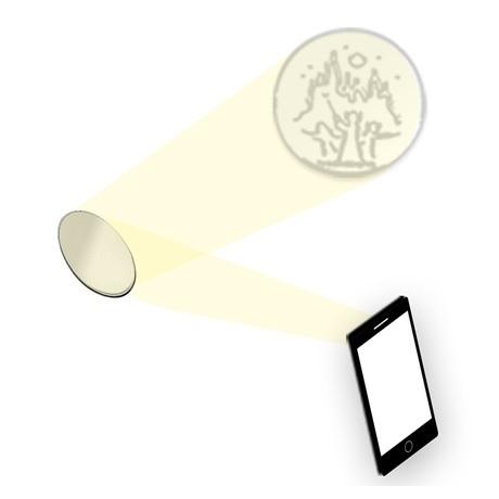 (MED14.Méd.KNM.2018.FeC1) Médaille miroir - Harry Potter (illustration)