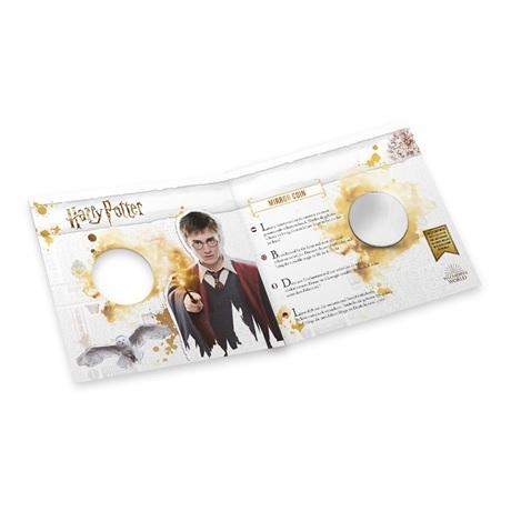 (MED14.Méd.KNM.2018.FeC1) Médaille miroir - Harry Potter (packaging ouvert)