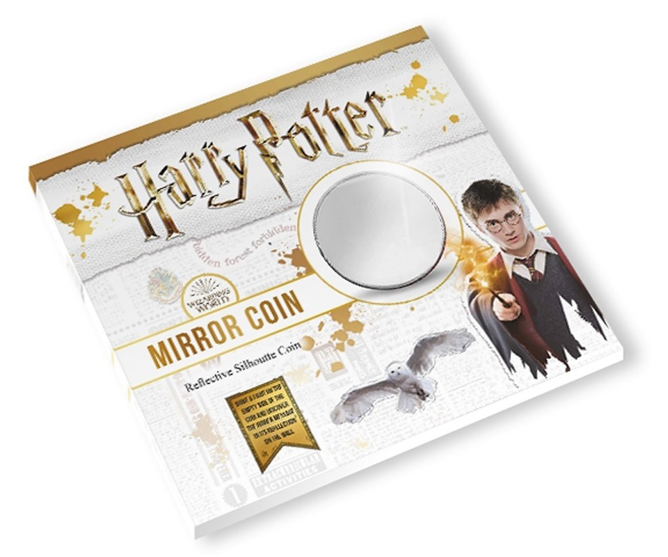 (MED14.Méd.KNM_.2018.FeC1) Mirror coin - Harry Potter (closed packaging) (zoom)
