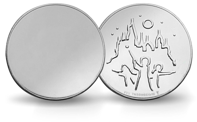 (MED14.Méd.KNM_.2018.FeC1) Mirror coin - Harry Potter (zoom)