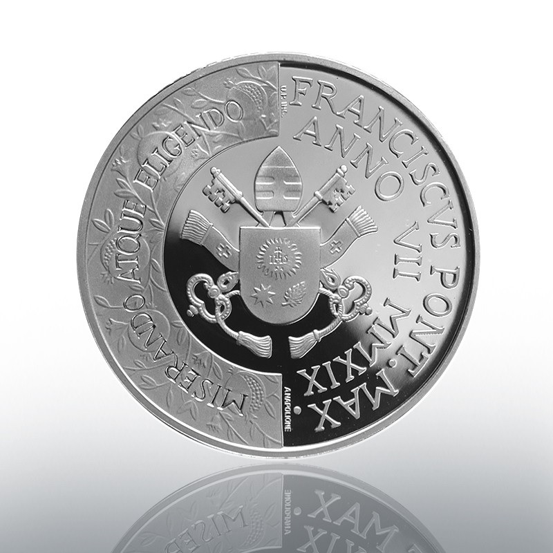 10 euro Vatican 2019 Proof silver - 52nd World Day of Peace Reverse (zoom)