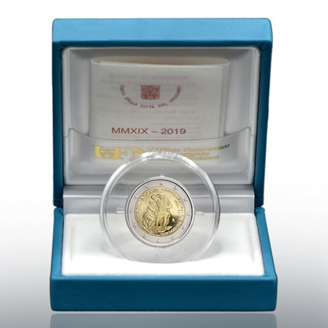 2 euro commémorative Vatican 2019 BE - Chapelle Sixtine
