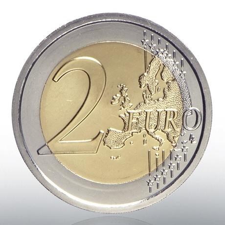 2 euro commémorative Vatican 2019 BU - Chapelle Sixtine Revers