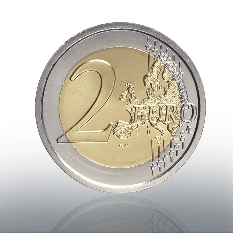 2 euro commemorative coin Vatican 2019 BU - Sistine Chapel Reverse (zoom)