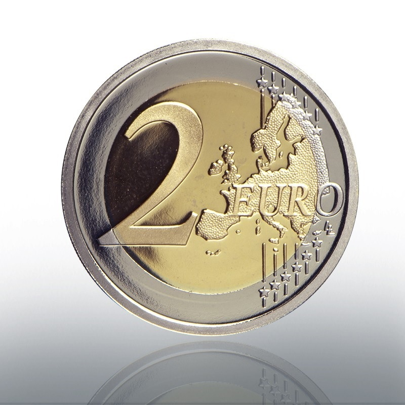 2 euro commemorative coin Vatican 2019 Proof - Sistine Chapel Reverse (zoom)