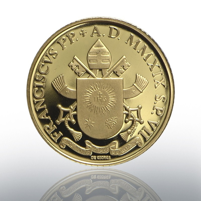 20 euro Vatican 2019 Proof gold - Liberation of Peter Reverse (zoom)