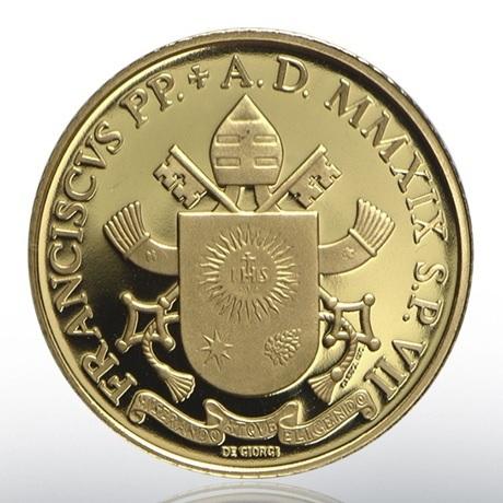 20 euro Vatican 2019 or BE - Libération de Pierre Avers