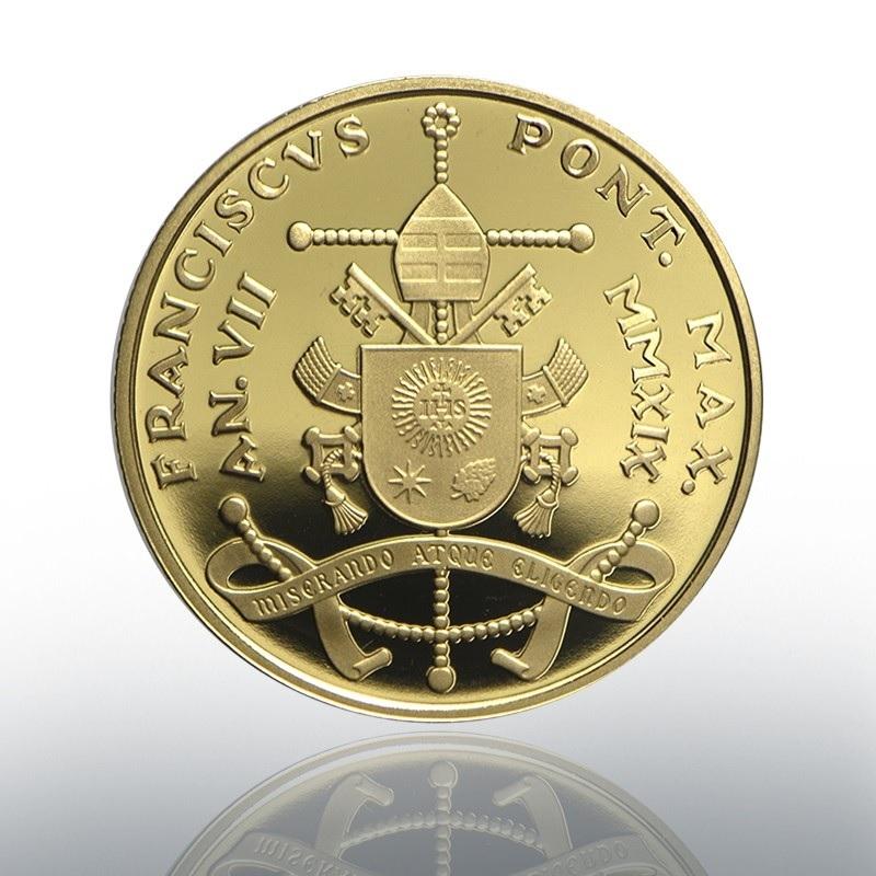 50 euro Vatican 2019 Proof gold - Council of Jerusalem Reverse (zoom)