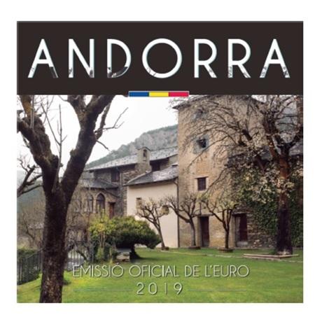 Brilliant Uncirculated coin set Andorra 2019