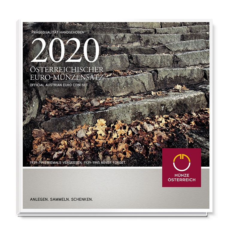 Brilliant Uncirculated coin set Austria 2020 (zoom)
