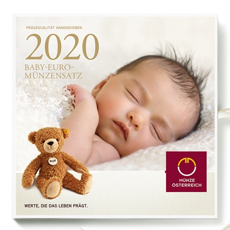 Coffret BU Autriche 2020 - Naissance