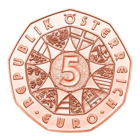 (EUR01.500.2020.23626) 5 euro Autriche 2020 - Musikverein Avers