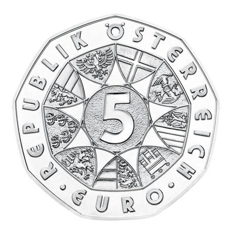 (EUR01.ComBU&BE.2020.500.BU.23627) 5 euro Autriche 2020 argent BU - Musikverein Avers