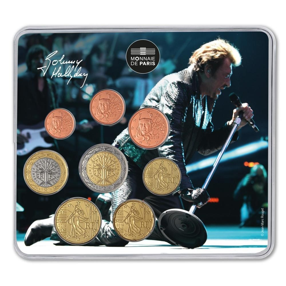(EUR07.CofBUFDC.2019.M-S.10041329960000) Johnny Hallyday in concert Front (zoom)