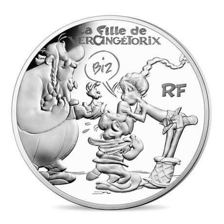 (EUR07.ComBU&BE.2019.1000.BE.10041329530000) 10 euro France 2019 argent BE - Astérix Avers