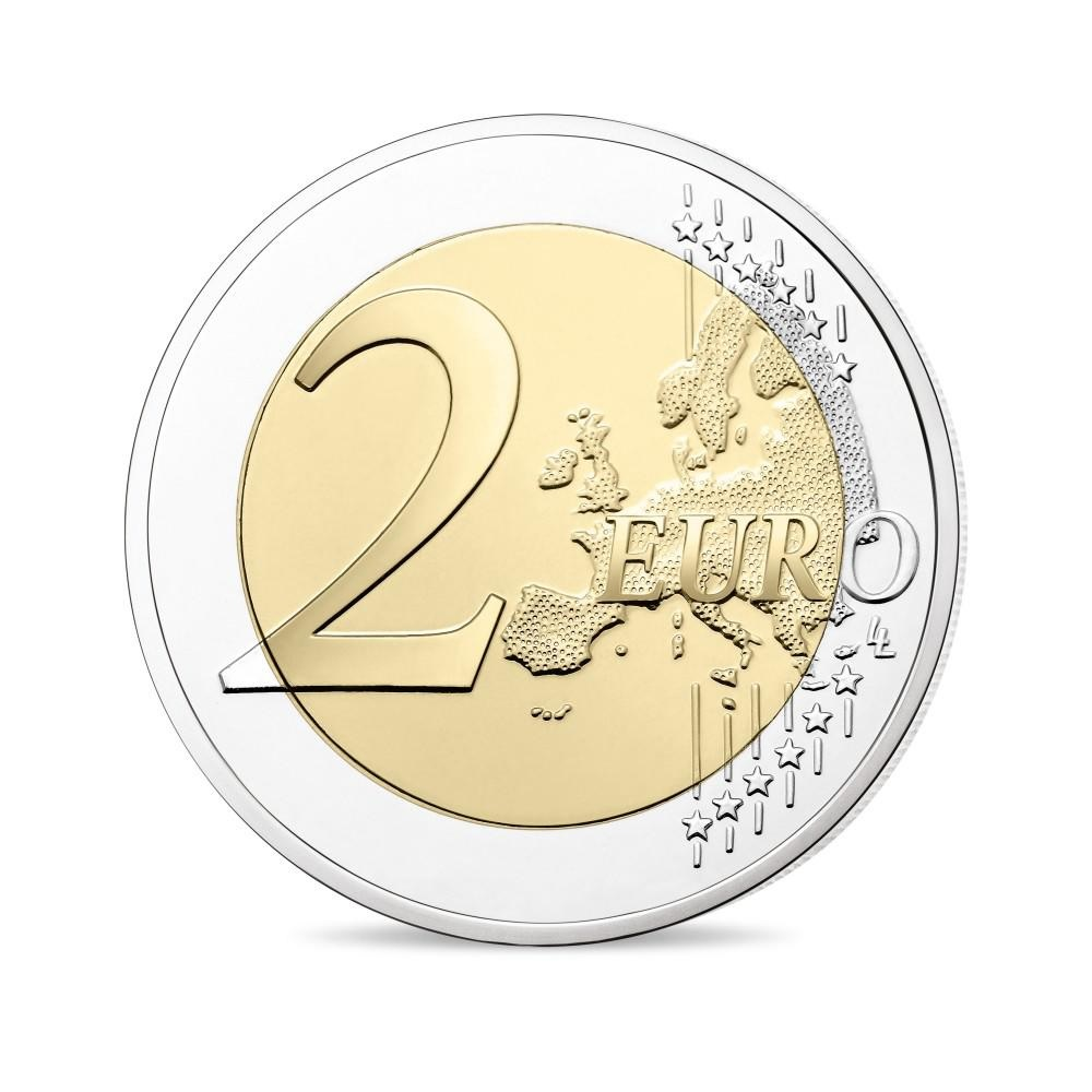 (EUR07.ComBU&BE.2019.200.BE.10041330010000) 2 euro France 2019 Proof - Berlin Wall Reverse (zoom)