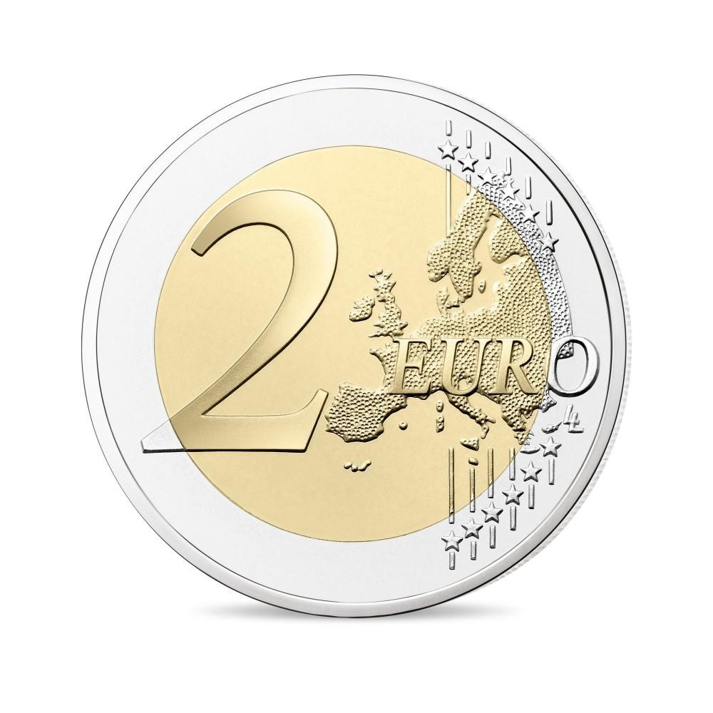 (EUR07.ComBU&BE.2019.200.BU.10041330020000) 2 euro France 2019 BU - Berlin Wall Reverse (zoom)