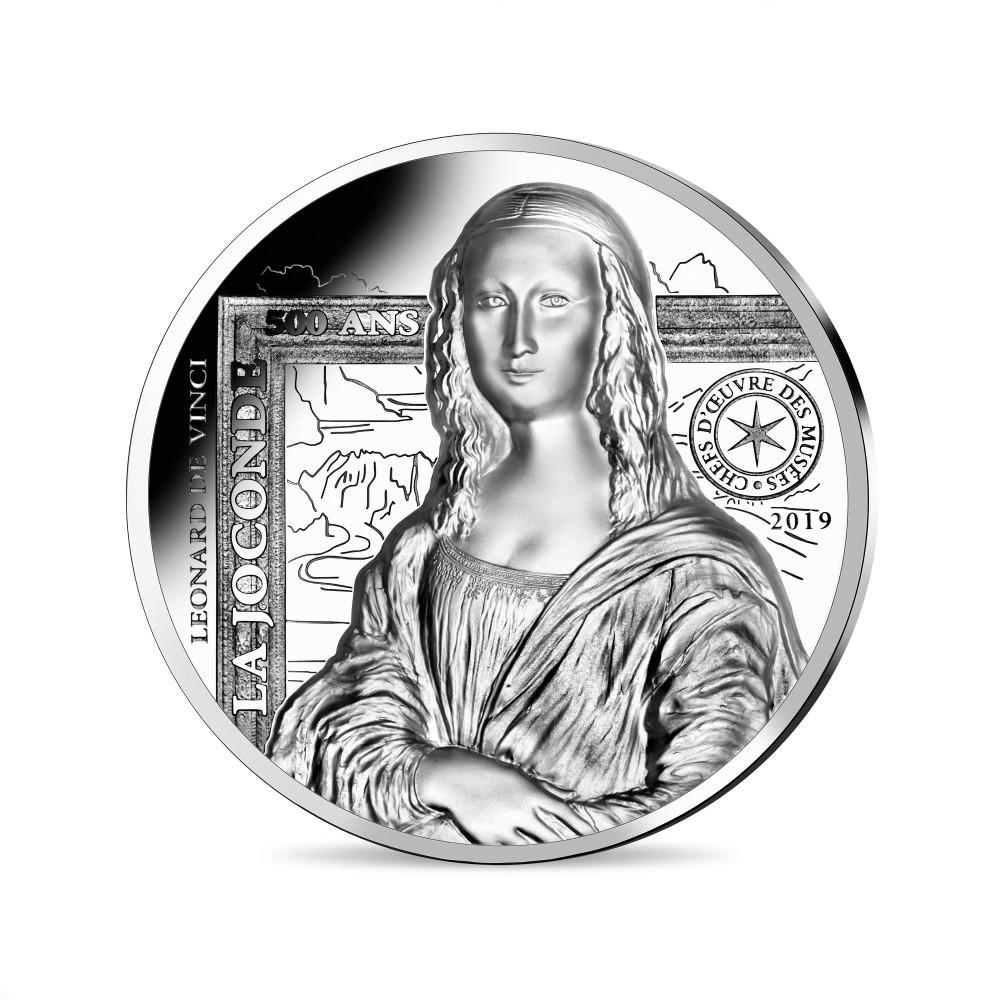 (EUR07.ComBUBE.2019.2000.BE_.10041337790000) 20 euro France 2019 Proof silver - Mona Lisa Reverse (zoom)