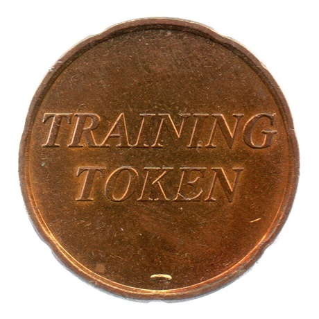 (EUR07.tk020.0.sup.000000001) Training token 20 cent Avers