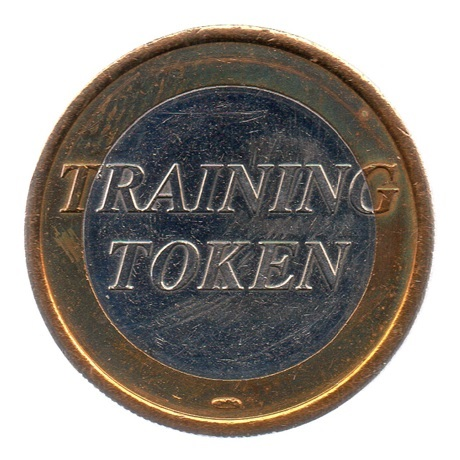 (EUR07.tk100.0.sup.000000001) Training token 1 euro Avers