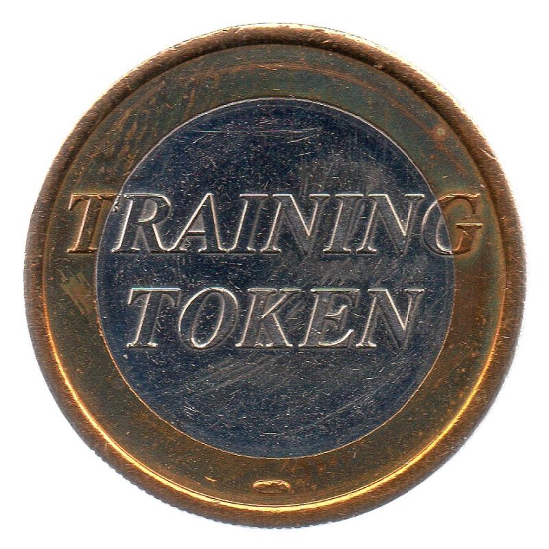(EUR07.tk100.0.sup_.000000001) Training token 1 euro Obverse (zoom)