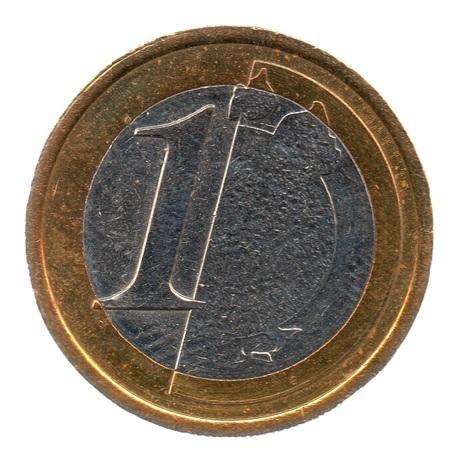 (EUR07.tk100.0.sup.000000001) Training token 1 euro Revers