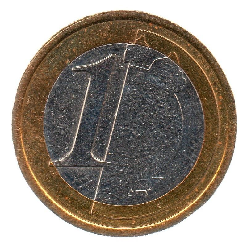 (EUR07.tk100.0.sup_.000000001) Training token 1 euro Reverse (zoom)