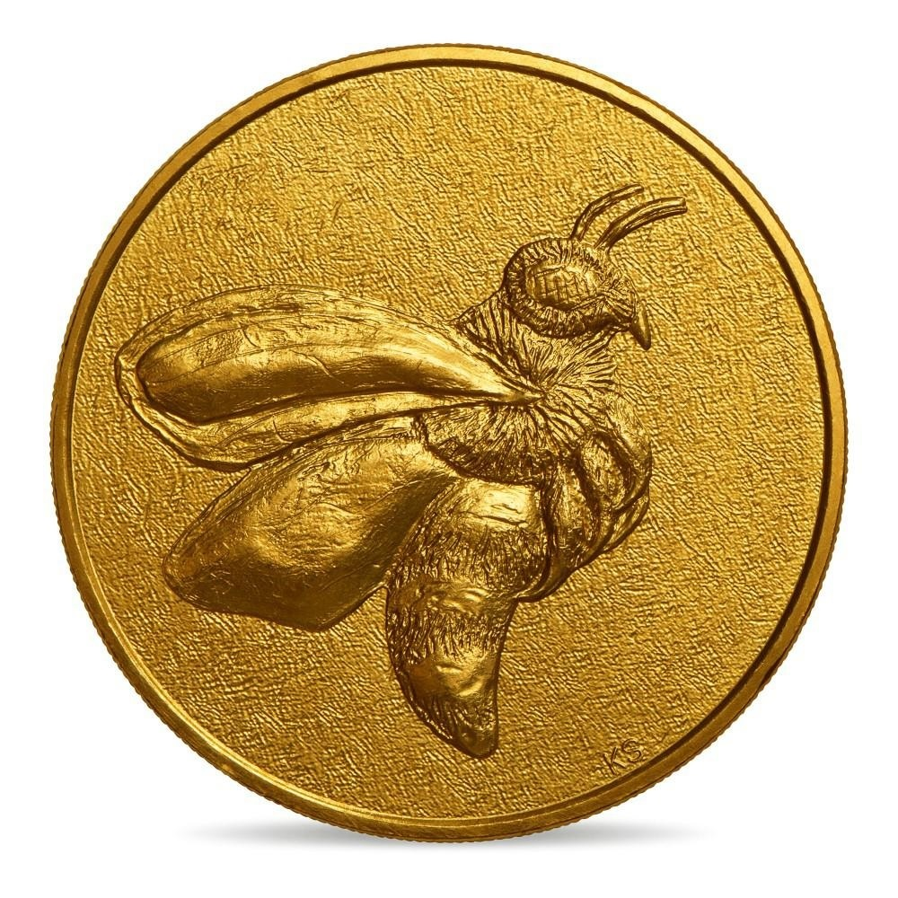 (FMED.Méd.event_.2019.CuAlNi.10011342870000) Event token - Forager B., by Kiki Smith Obverse (zoom)