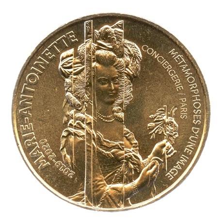 (FMED.Méd.souv.2019.CuAlNi.1.2.spl.000000001) Jeton souvenir - Marie-Antoinette Avers