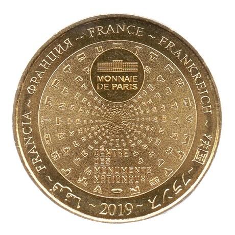 (FMED.Méd.souv.2019.CuAlNi.1.2.spl.000000001) Jeton souvenir - Marie-Antoinette Revers