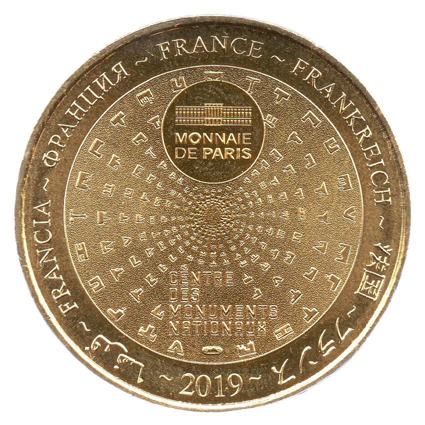 (FMED.Méd.souv_.2019.CuAlNi.1.2.spl_.000000001) Memory token - Queen Marie-Antoinette Reverse (zoom)