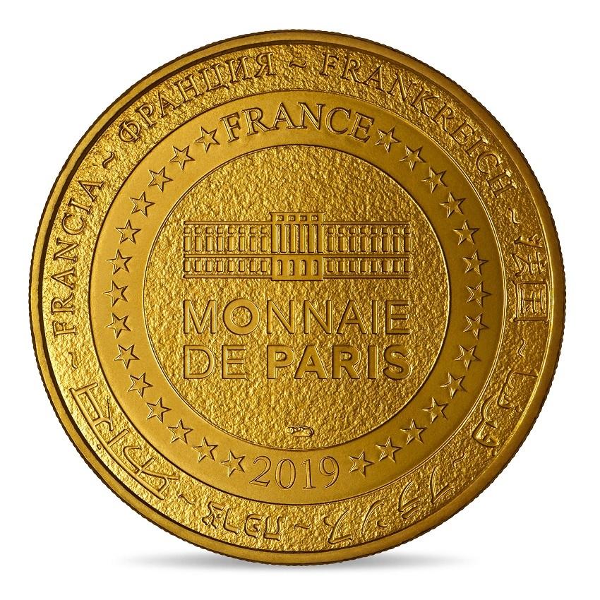 (FMED.Méd.souv_.2019.CuAlNi.10011347540000) Memory token - Johnny Hallyday and his pendant medal Reverse (zoom)