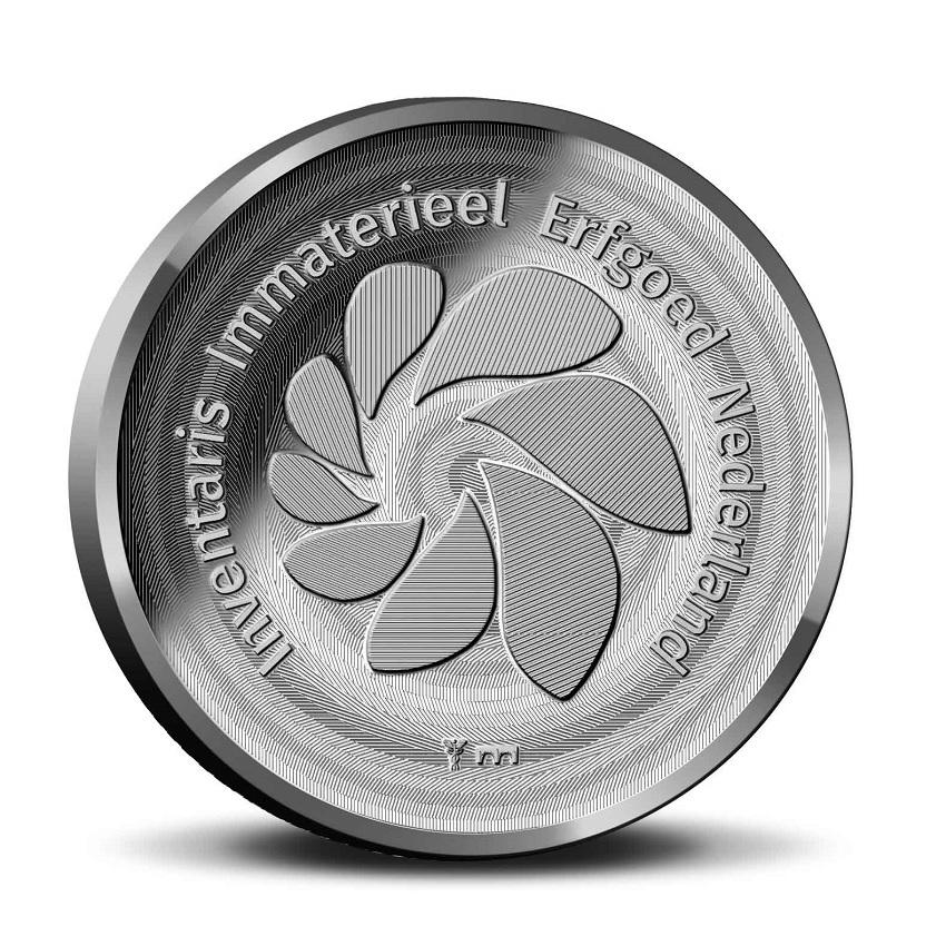 (MED14.Méd.KNM_.2019.CuNi_.BU_.1) BU medal - Craft of the diamond cutter Reverse (zoom)