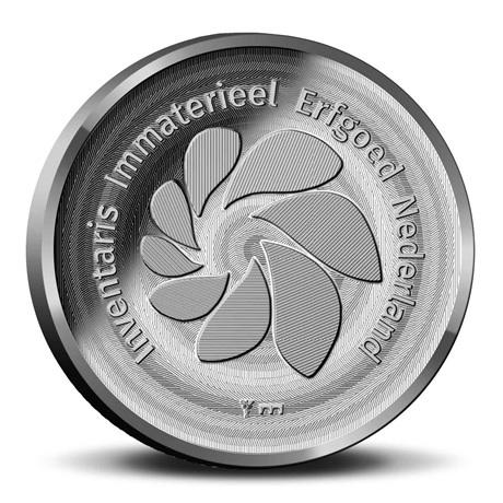 (MED14.Méd.KNM.2019.CuNi.BU.1) Médaille BU - Métier du tailleur de diamant Revers
