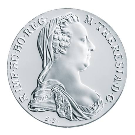 (W018.Thaler.1780.10079) Refrappe Thaler Marie-Thérèse 1780 Avers