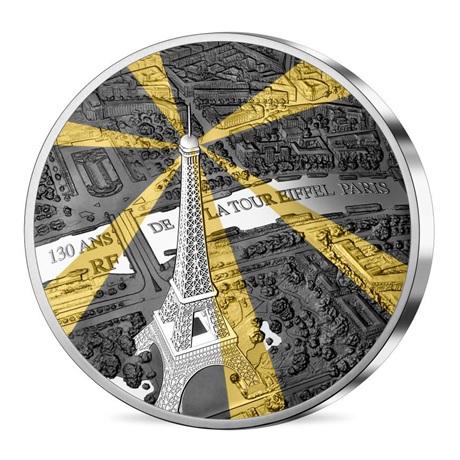 500 euro France 2019 argent BE - Tour Eiffel Avers