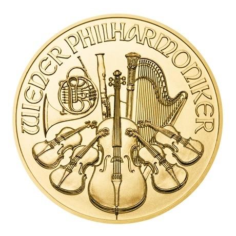 (EUR01.1000.2020.0,1.au.bullco.191) 10 euro Autriche 2020 0,10 once or - Philharmonique Revers