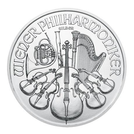 (EUR01.150.2020.1.ag.bullco.15369) 1,50 euro Autriche 2020 1 once argent - Philharmonique Revers