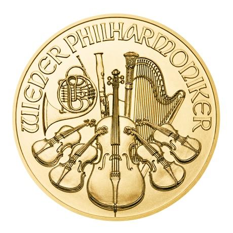 (EUR01.2500.2020.0,25.au.bullco.54) 25 euro Autriche 2020 0,25 once or - Philharmonique Revers